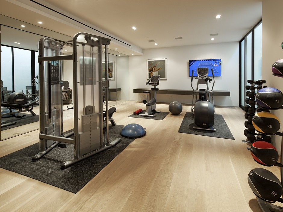 Home gym interior design ideas for Best home gym design ideas