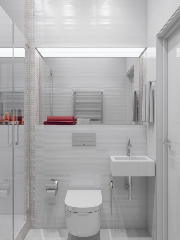Small bathroom scheme