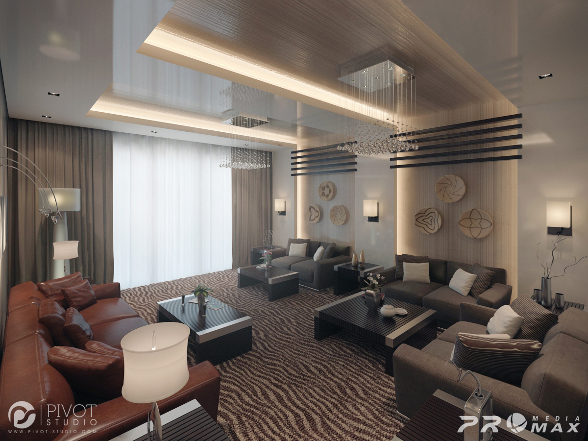 Striped Carpet - Luxurious room schemes