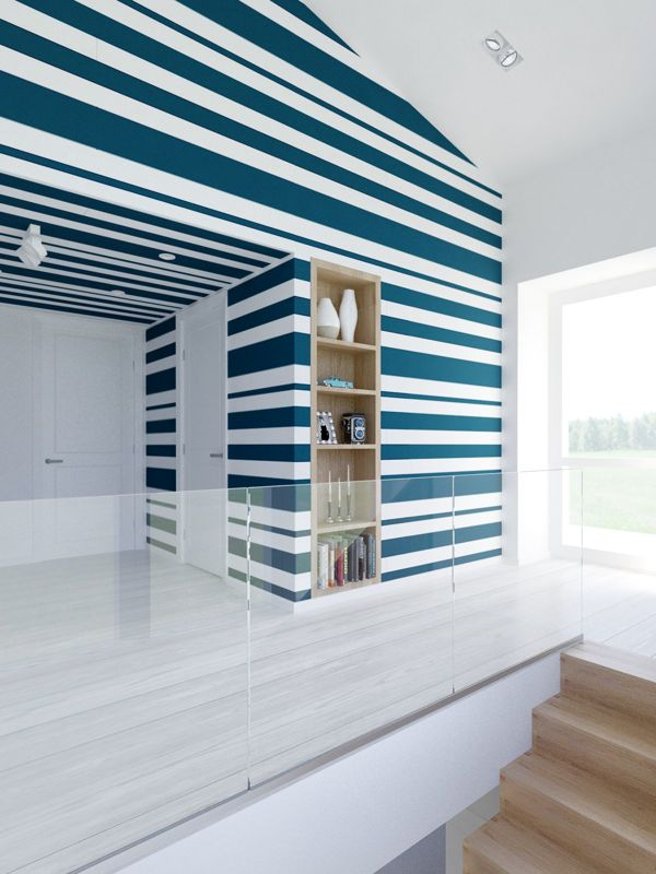 Striped decor