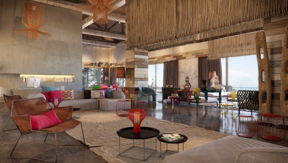 Colorful, Exuberant Interior Design: Inspiration from W Retreat & Spa, Vieques Island
