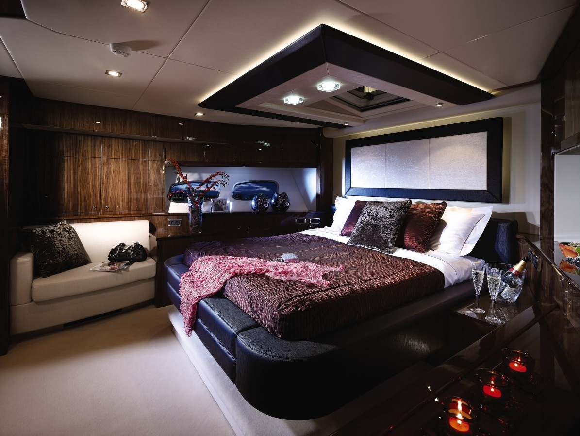 luxury yacht interior design. Black Bedroom Furniture Sets. Home Design Ideas