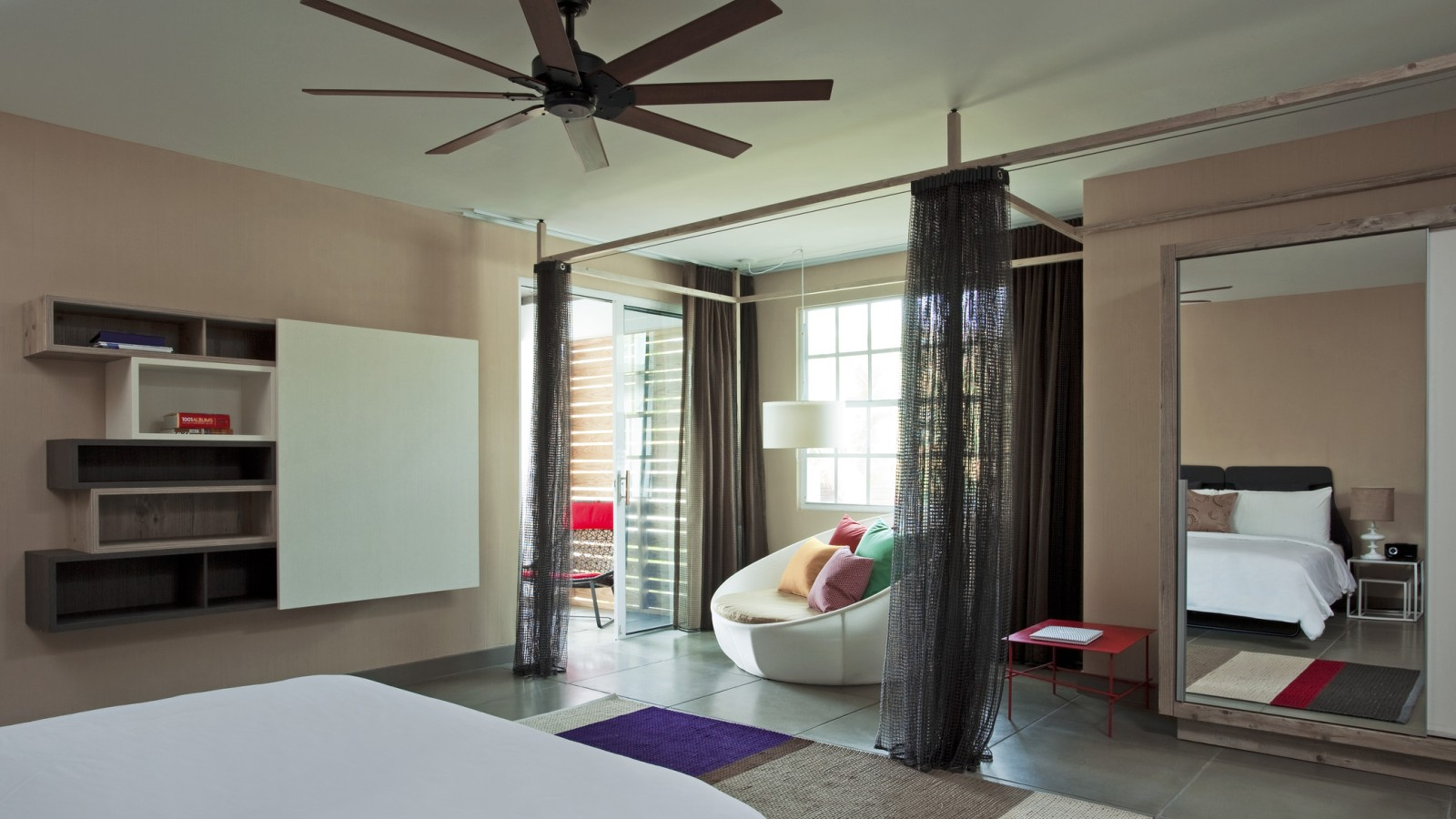 Spa Inspired Bedrooms Colorful Exuberant Interior Design Inspiration From W Retreat