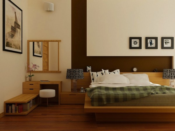 Fabulous  Another fashionable take on the platform bed