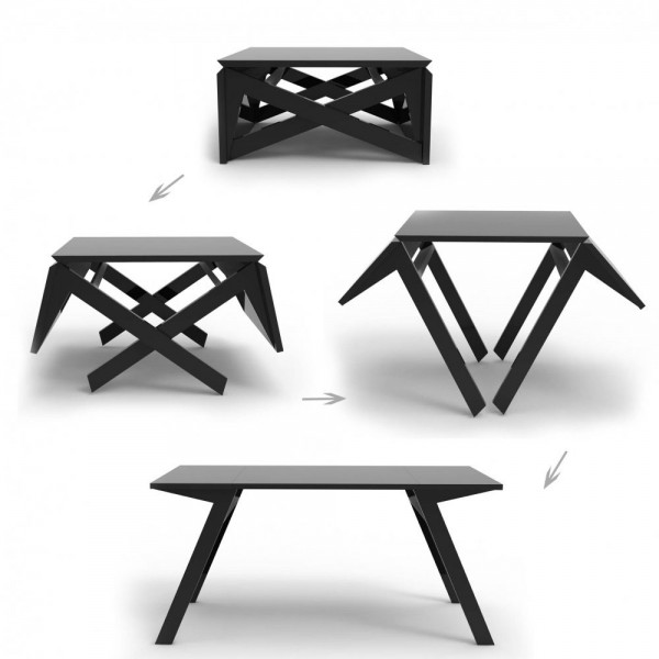 Extendable Dining Tables - Transformer table canada
