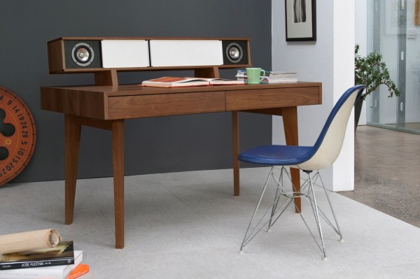 Desk for the audiophile.