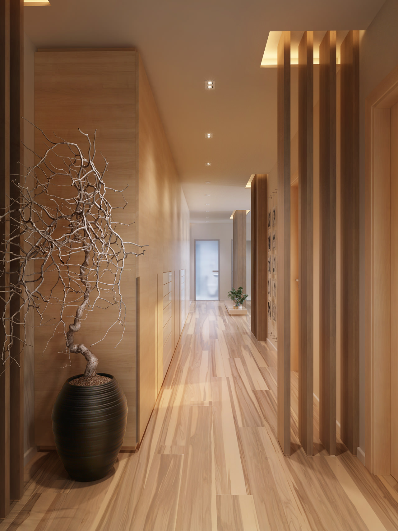 Hallway decor interior design ideas for Home design ideas hallway