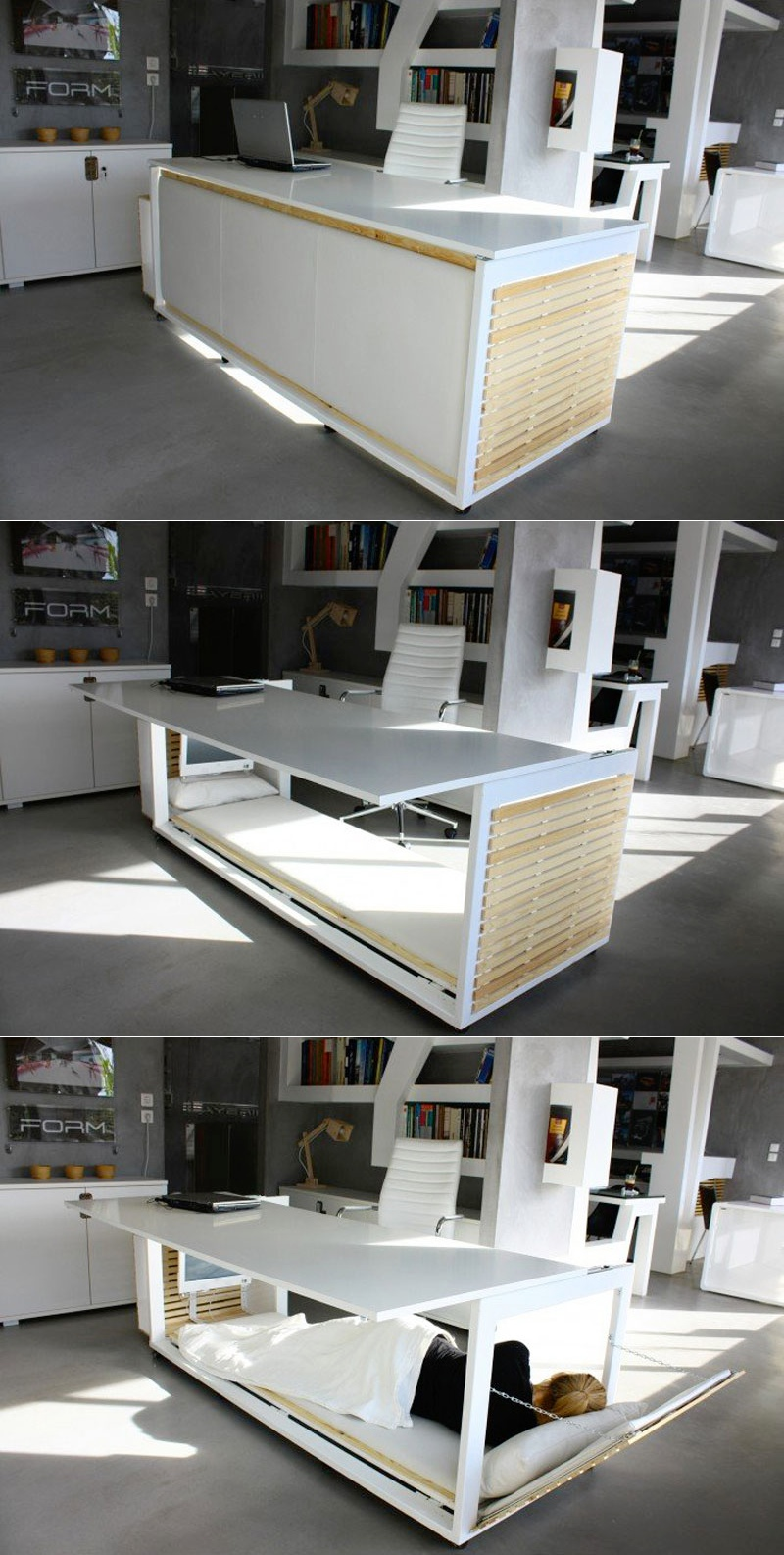 Work Desk Bed - 30 inspirational home office desks
