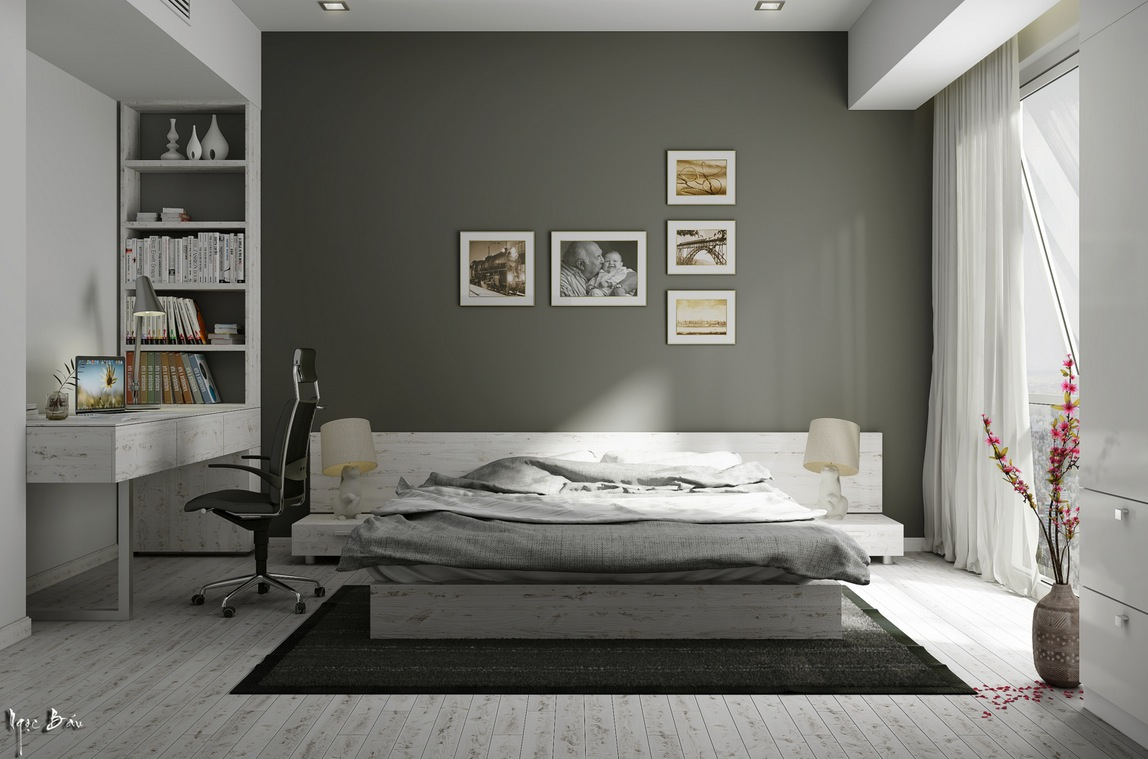 Rustic Bedroom Furniture - Interiors with natural and rustic accents