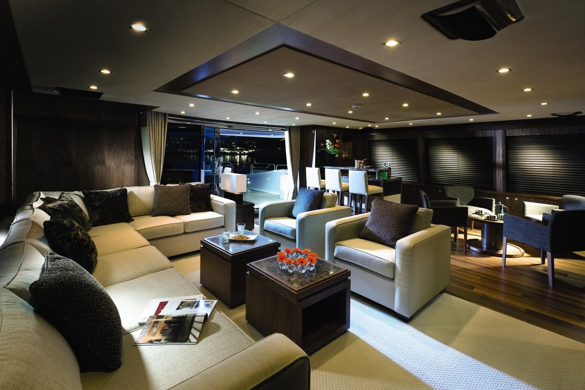 Yacht Home - Luxury yacht interior design