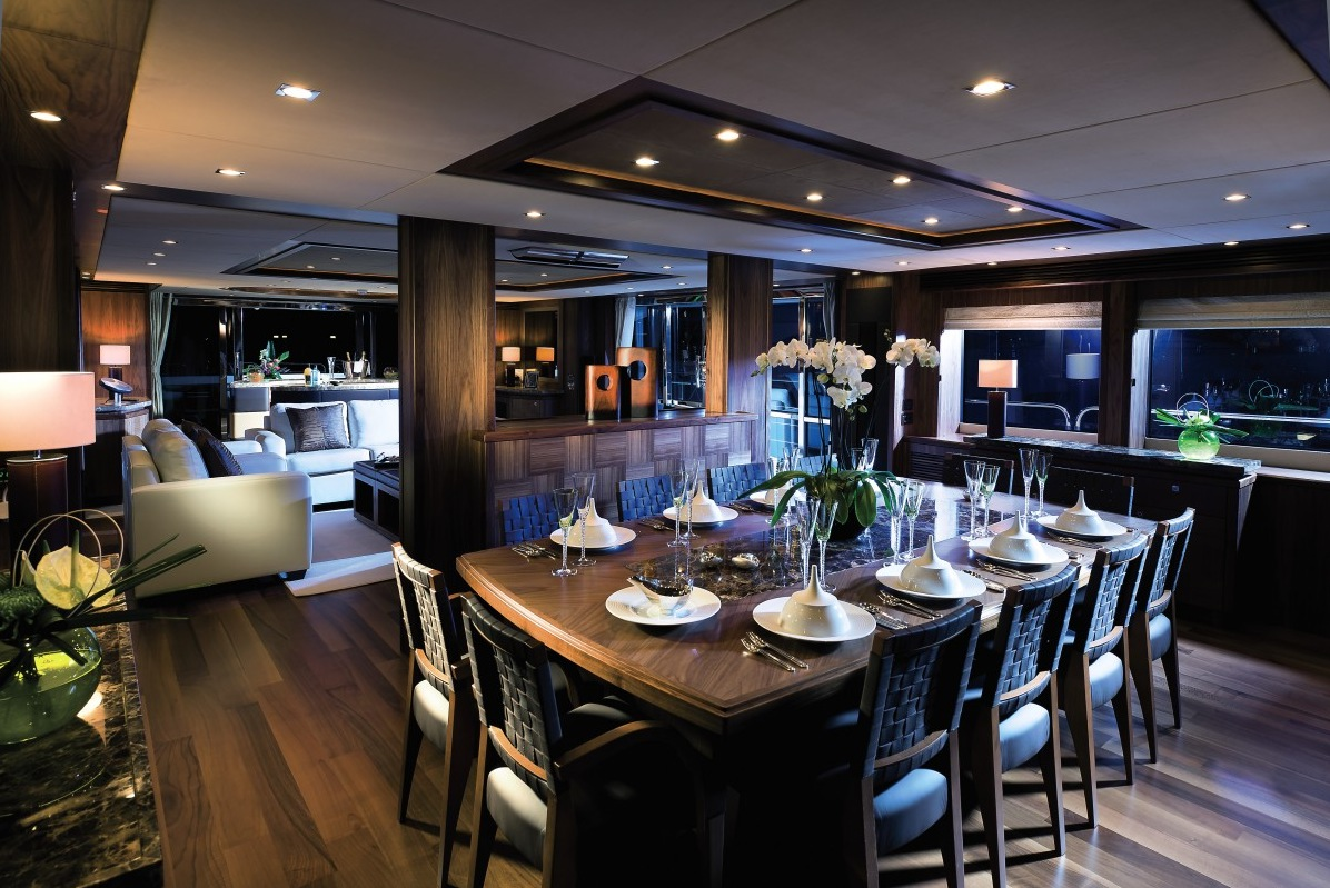 Furnished Yacht - Luxury yacht interior design