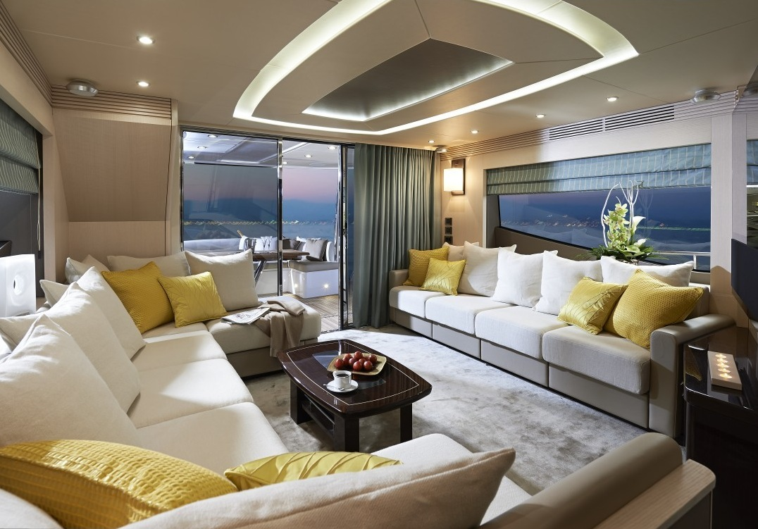 Yacht lounge | Interior Design Ideas.