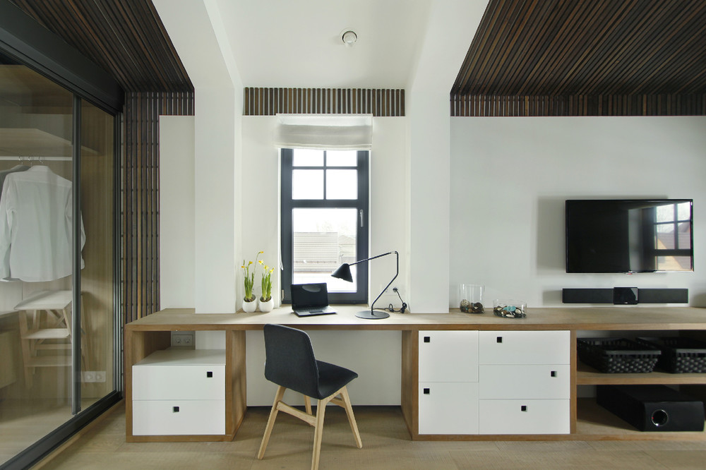 Built In Dessk Sideboard - 30 inspirational home office desks