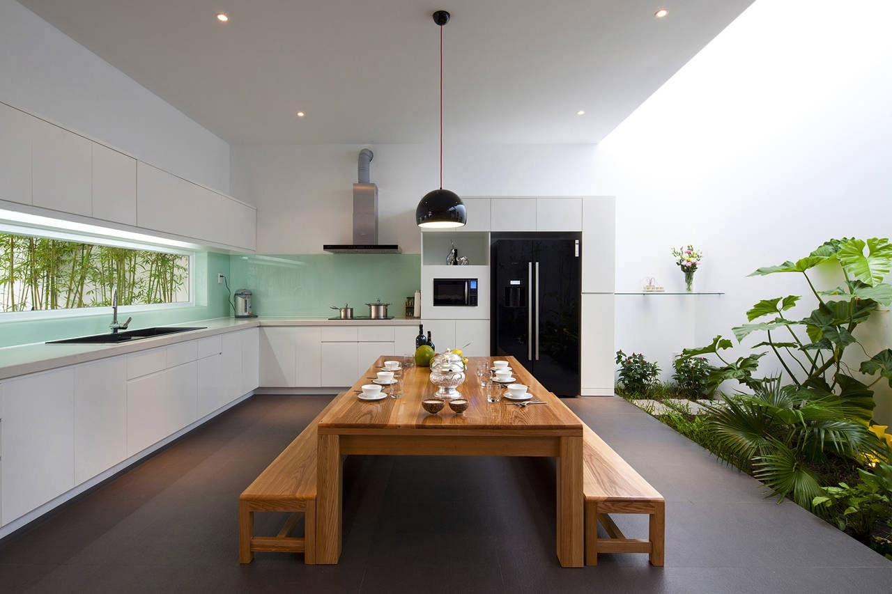zen inspired kitchen diner | interior design ideas.