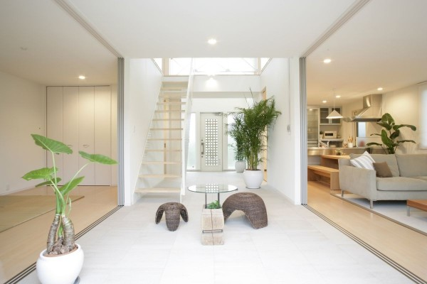 Balance is key in a zen style home.