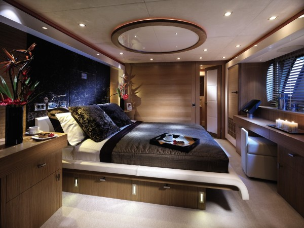 Luxury platform bed