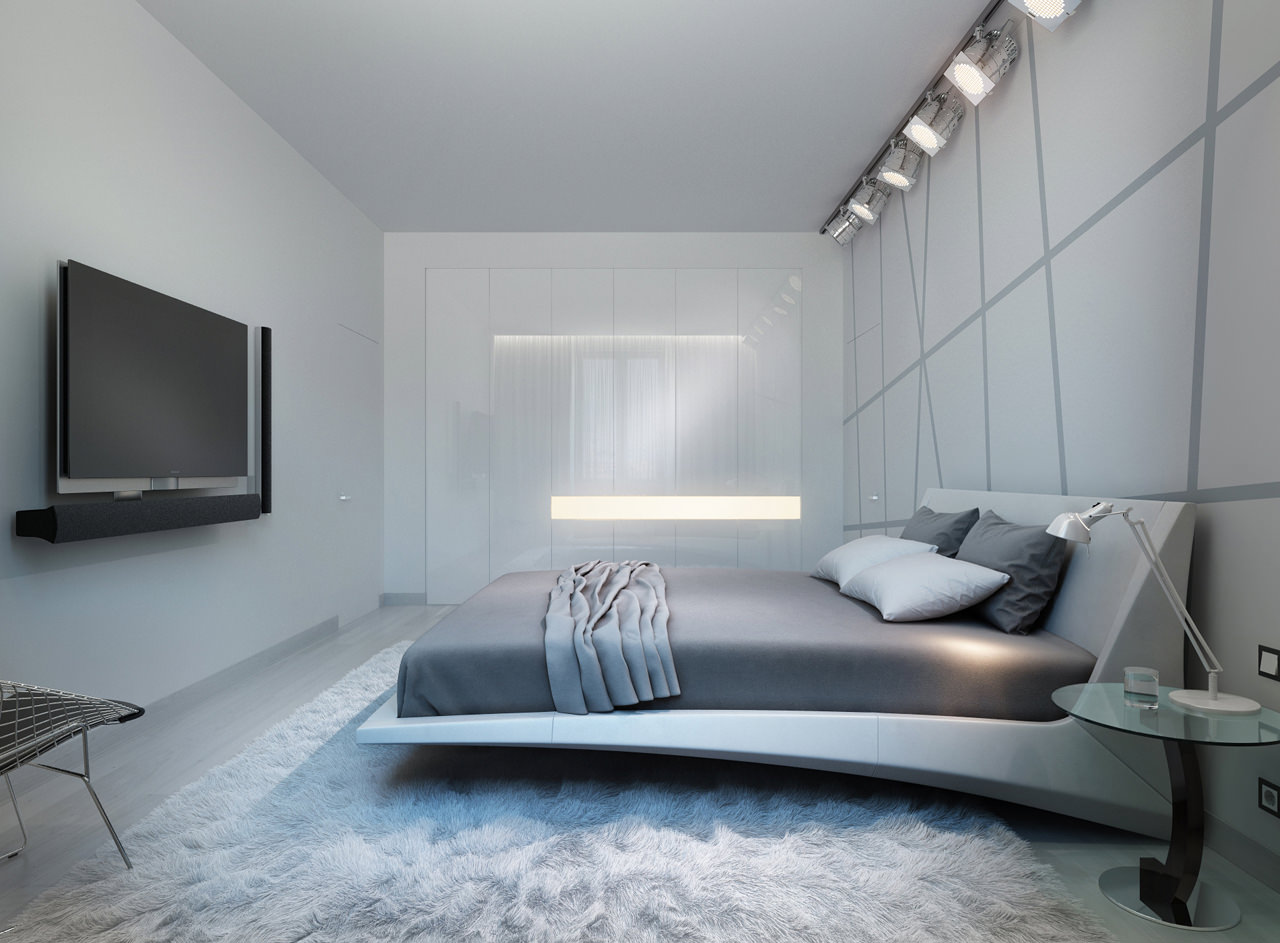 Three apartments with extra special lighting schemes - Plafones modernos ...