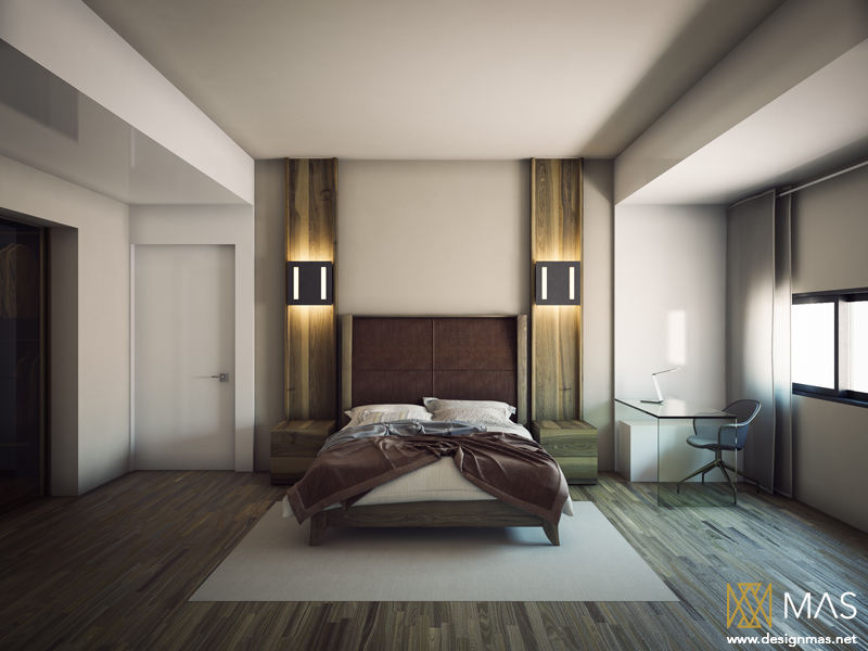 7 visualizer mas - Modern Bedroom Interior Design