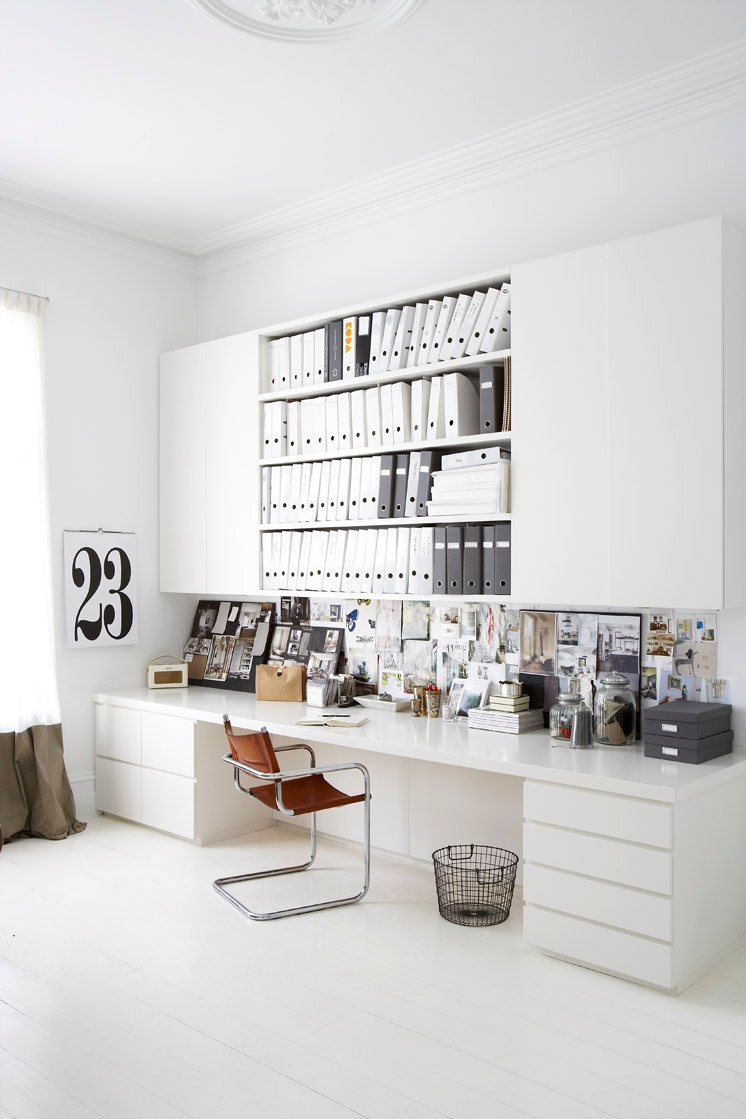 30 inspirational home office desks for Interior inspiration