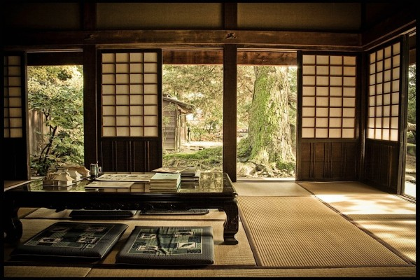 Softness underfoot creates relaxation in a zen room.