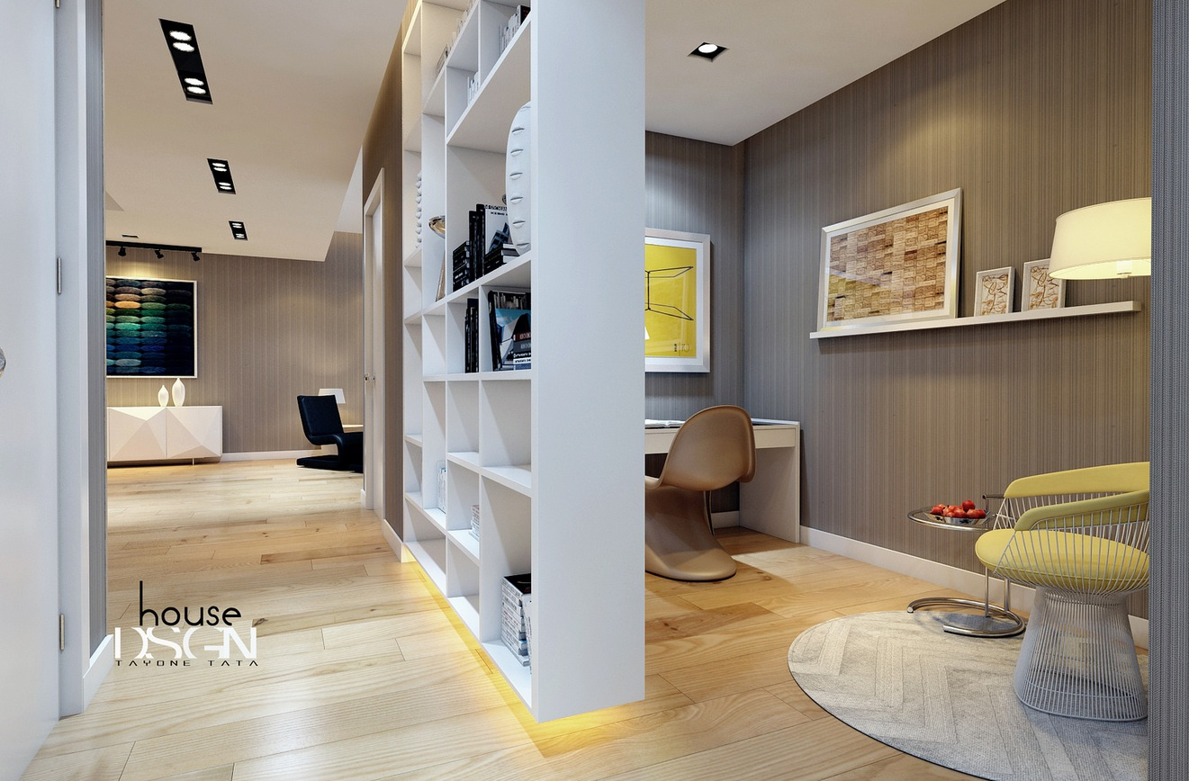 Terrific White Gray Home Office Nook Interior Design Ideas Largest Home Design Picture Inspirations Pitcheantrous