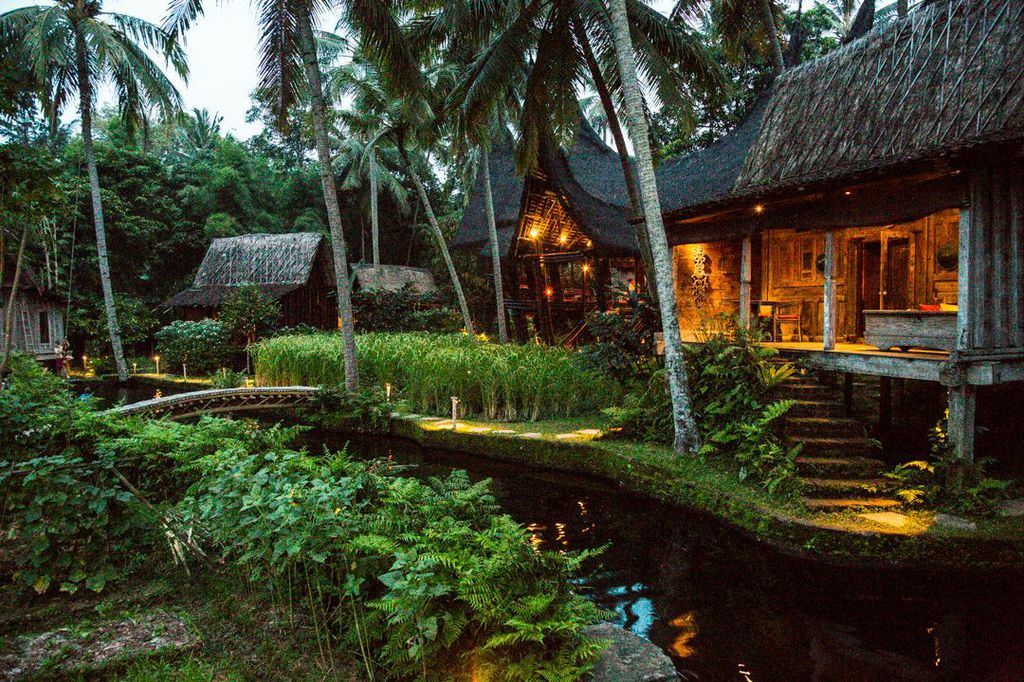 Mesmerizing bambu inda resort bali for Design boutique hotel ubud