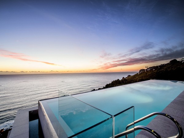 8 infinity pool with sea view house