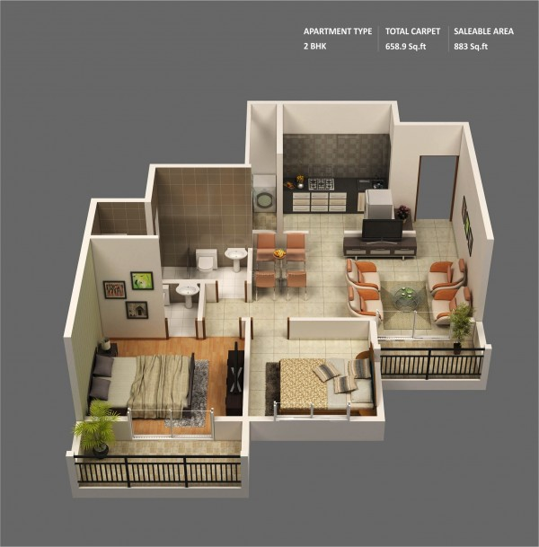 2 bedroom apartmenthouse plans malvernweather Choice Image