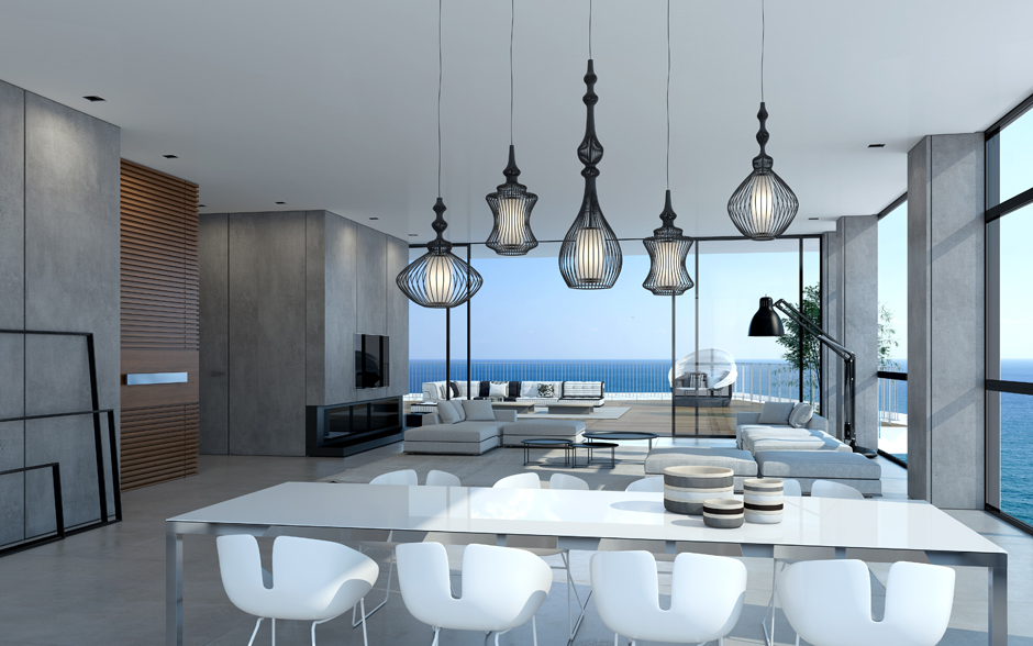 Smoking hot penthouse interior designs visualized for Small penthouses design