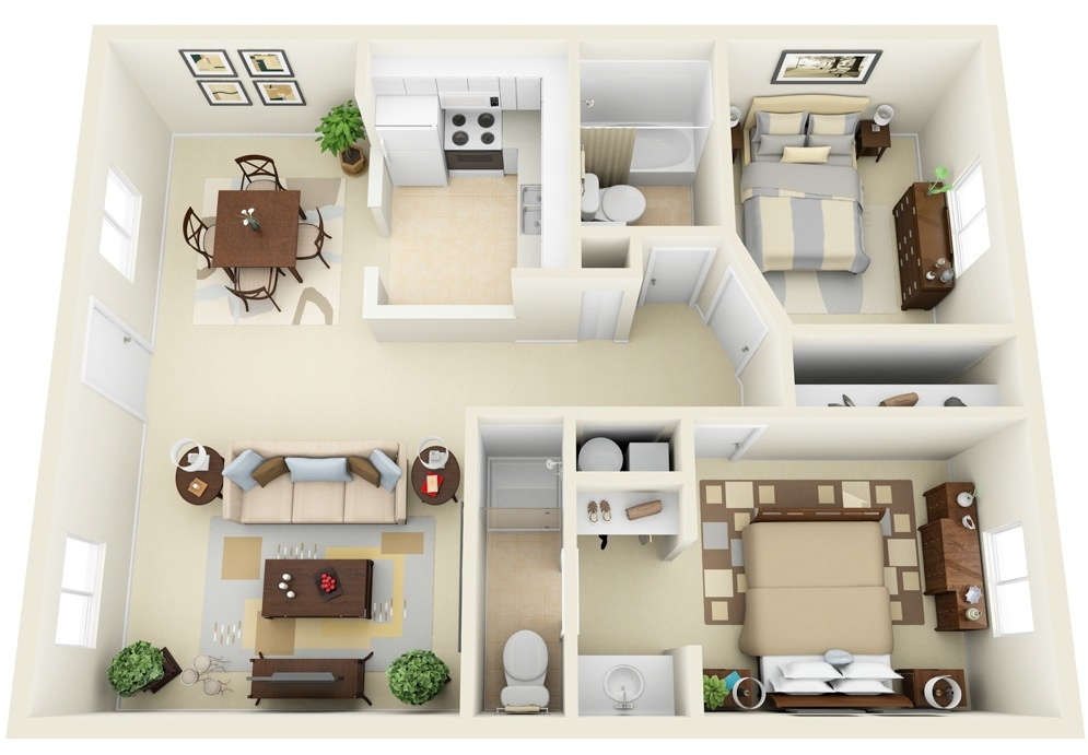 2 bedroom apartment house plans smiuchin 2 bedroom apartment design