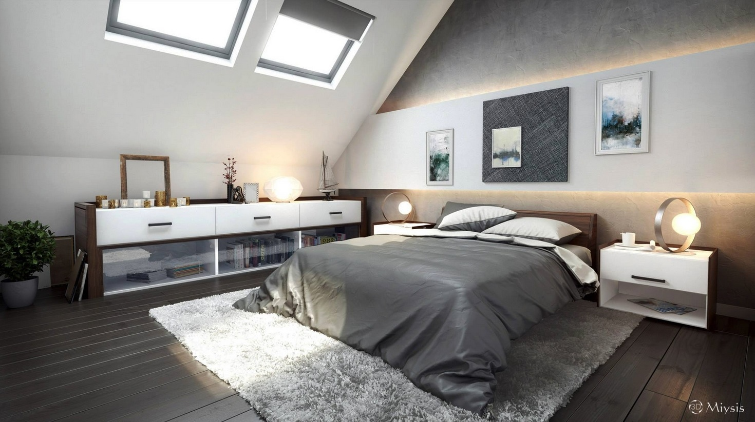Attic bedroom ideas interior design ideas for Bedroom ideas uk