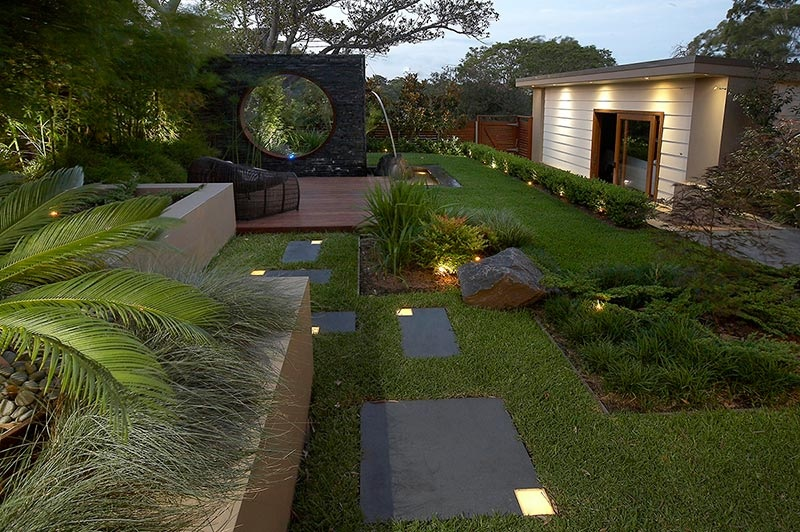 modern landscape design ideas from rollingstone landscapes rh home designing com modern house garden ideas modern house landscaping ideas