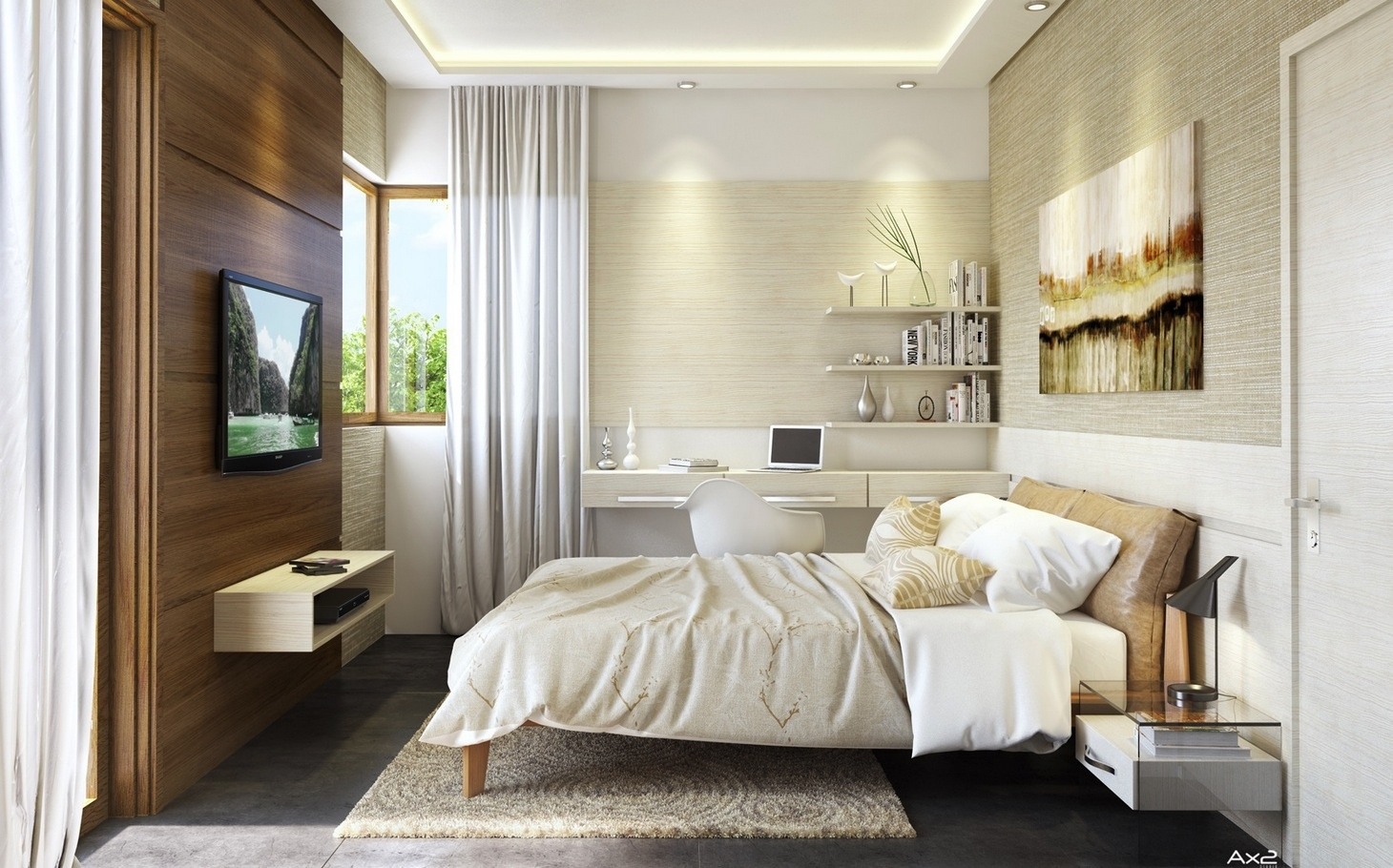 like architecture interior design follow us - Tv In Bedroom