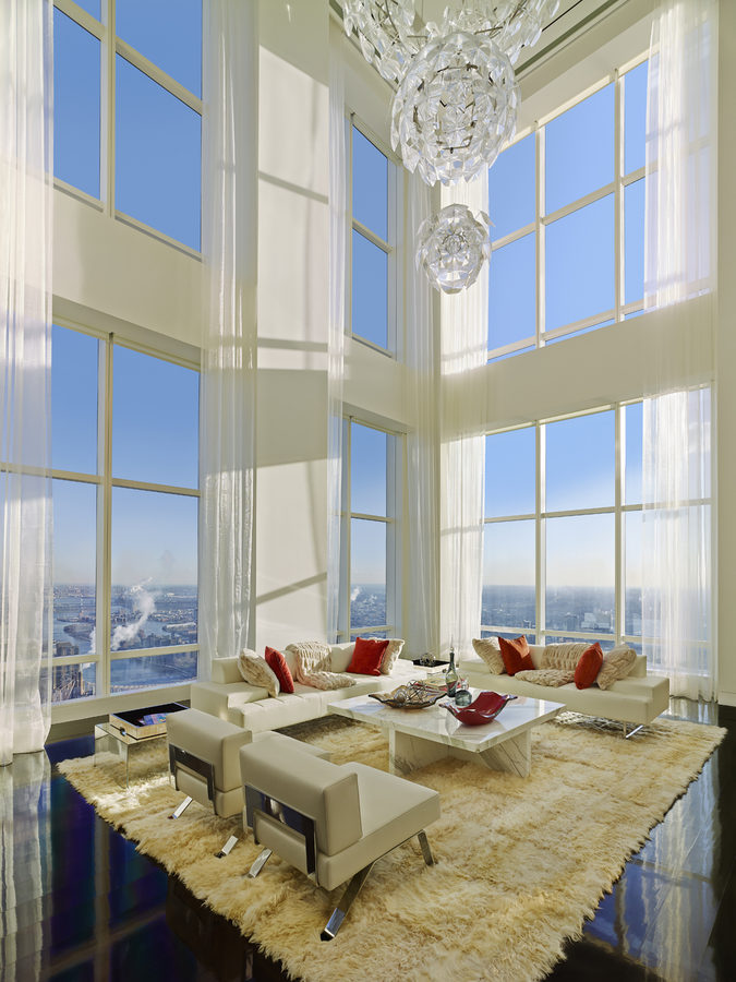 ultra luxury design a billionaire 39 s penthouse in new york. Black Bedroom Furniture Sets. Home Design Ideas