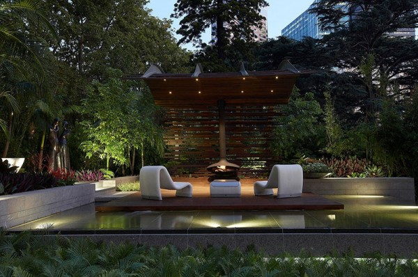garden and pool lighting