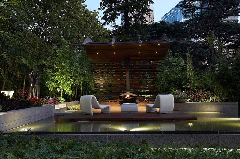 Modern landscape design ideas from rollingstone landscapes for Zen pool design