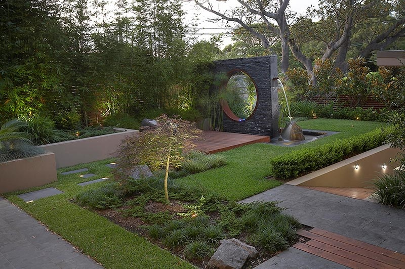 Modern landscape design ideas from rollingstone landscapes for Japanese landscape architecture