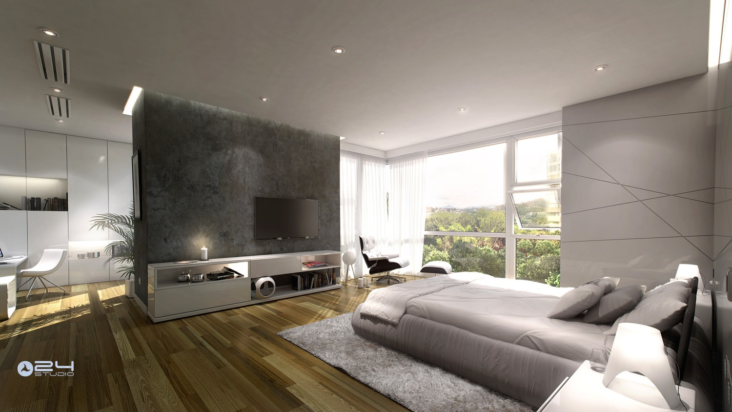 25 newest bedrooms that we are in love with for Design your home online with room visualizer