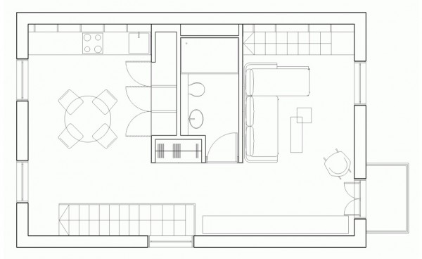 Beautiful loft design a solution to space shortage - Solutions for small spaces plan ...