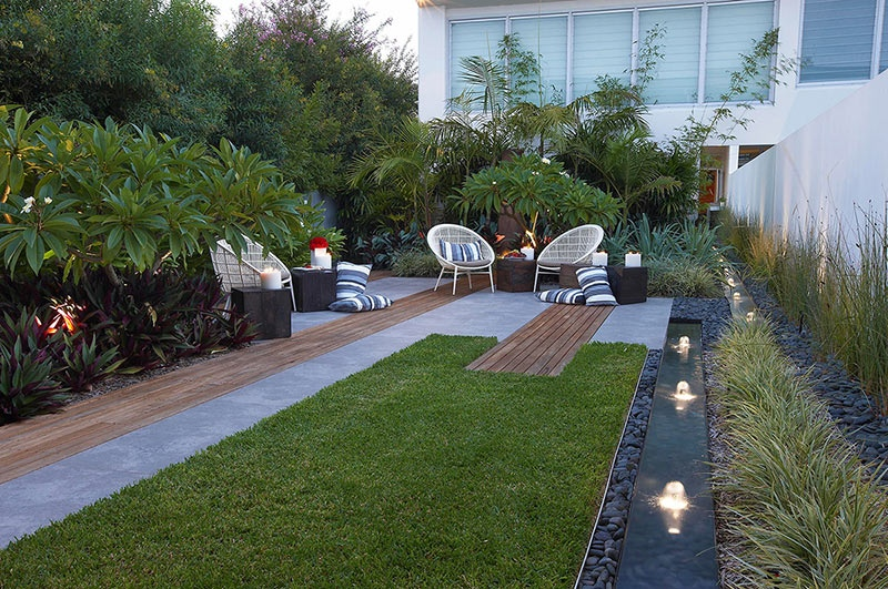 Modern landscape design ideas from rollingstone landscapes for Photo jardin moderne design