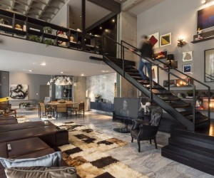 Loft interior design ideas - Open concept apartment design ...