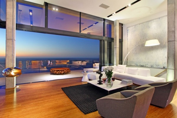 open concept living room design