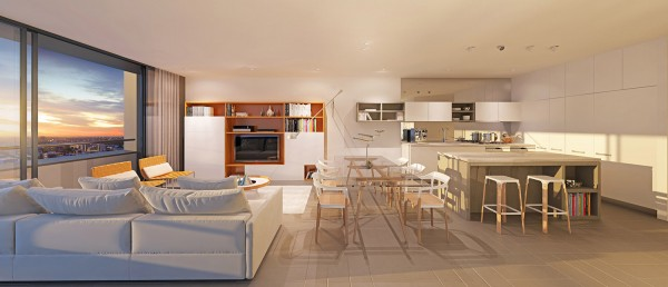 open layout apartment