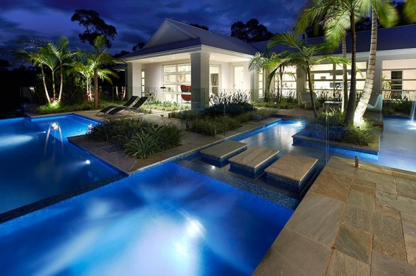 pool and garden ideas