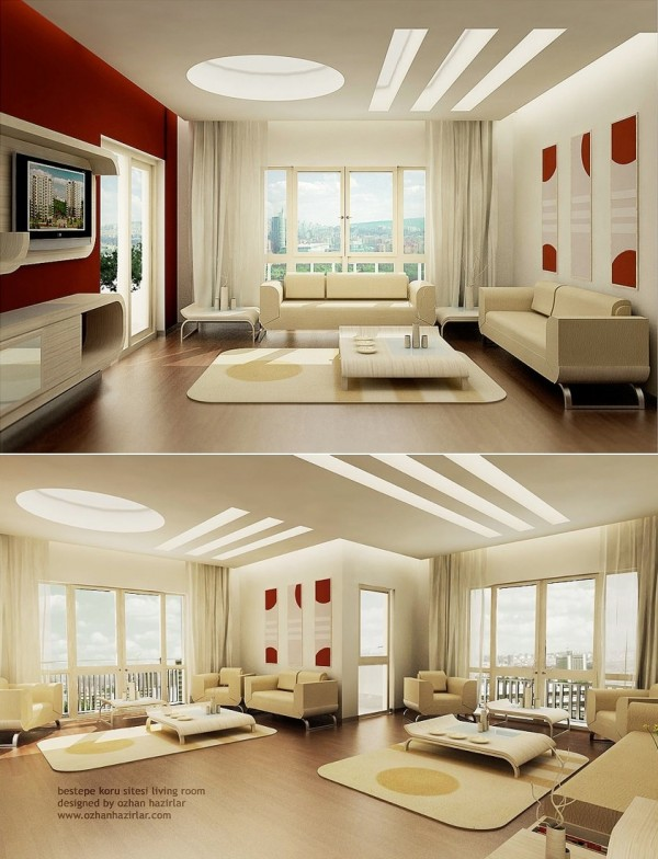 red-white-living-room