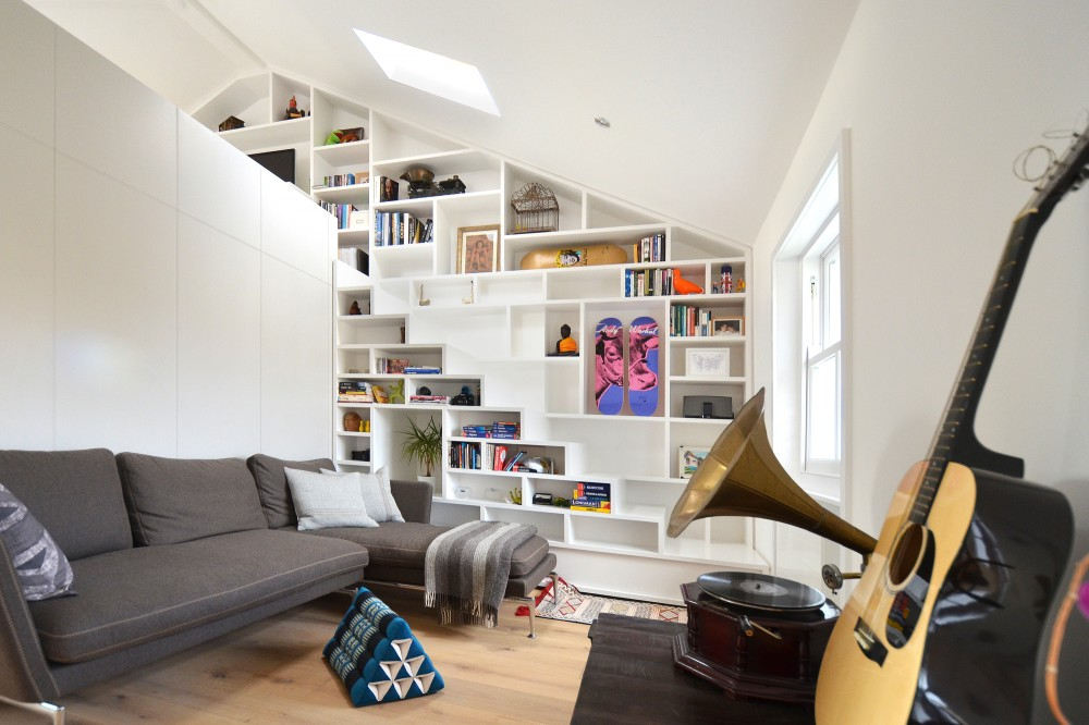 Beautiful loft design a solution to space shortage for Small loft design