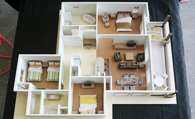 3 bedroom apartment floor plans1 Interior Design Ideas