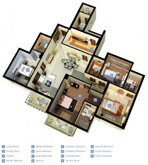 4-bedroom-layout