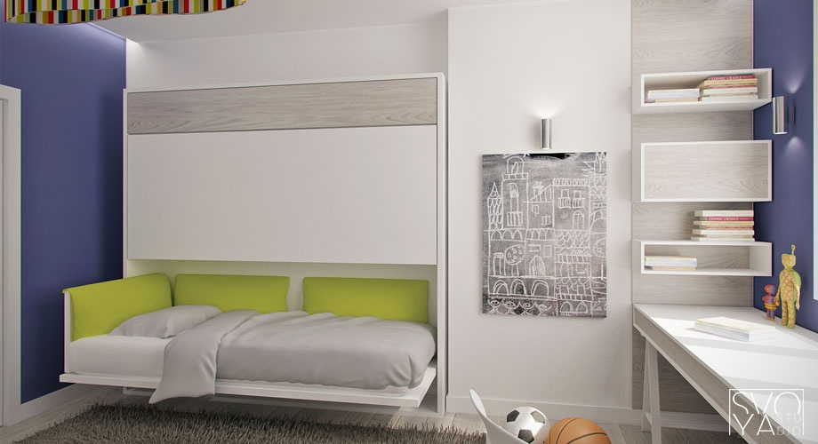Clei beds interior design ideas for Clei wall bed