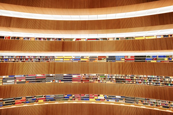 Library at the Institute of Law, Zurich